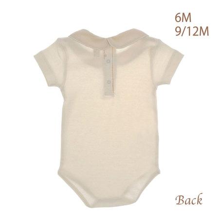 襟付き後開き半袖ボディ ベビー 赤ちゃん 肌着 BB13218 BB13218A