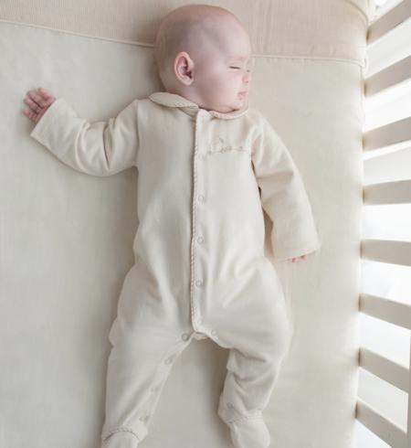 えり&足つき長袖カバーオール ベビー 赤ちゃん 肌着 BB13229