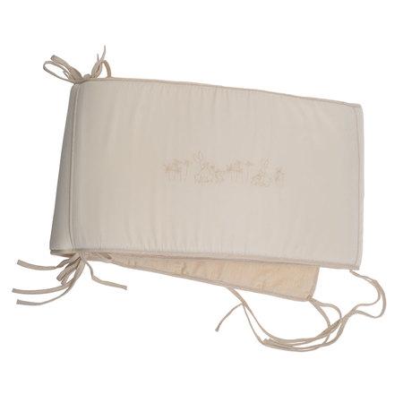 うさぎ刺繍ベビーベッド側面用保護シート(ベッドバンパー) TB07000